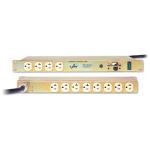 Standard Density ePDU Basic - Power distribution unit (rack-mountable) - AC 125 V - 1.44 kW - 1440 VA - input: NEMA 5-15 - output connectors: 12 (NEMA 5-15) - 1U - North America - gold