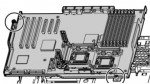 System I/O board (motherboard) - For use in servers using Intel Xeon 50xx and 51xx series processors and PATA optical drives ONLY - Includes sub pan tray and screws