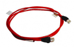Unshielded Category 5 (CAT5) interface cable with RJ-45 connectors - For CAT5 Server Console Switch KVM or IP Console Switch KVM - 6.1m (20ft) - Package contains one cable