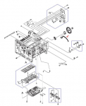 Coupling lever - White plastic lever between large white gear cam and drive release assembly