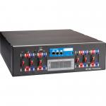 Powerware Rack Power Module RPM-3U - Power distribution unit (rack-mountable) - AC 208 V - 3-phase - RS-232 - input: hardwire 5-wire (3PH + N + G) - output connectors: 4 (NEMA L21-30) - 3U - 19 inch