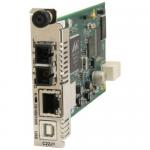 C3210 Series - Fiber media converter - GigE - 10Base-T 1000Base-SX 1000Base-T 100Base-X - RJ-45 / SC multi-mode - up to 1800 ft - 850 nm