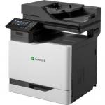 CX820de - Multifunction printer - color - laser - Legal (8.5 in x 14 in) (original) - A4/Legal (media) - up to 52 ppm (copying) - up to 52 ppm (printing) - 650 sheets - 33.6 Kbps - USB 2.0 Gigabit LAN USB 2.0 host
