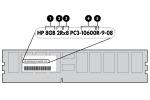 4GB DDR3 PC3-10600R 1333MHZ MEM - 4 GB (1 x 4 GB) - DDR3 SDRAM - 1333 MHz DDR3-1333/PC3-10600 - ECC - Registered - 240-pin - DIMM - Retail