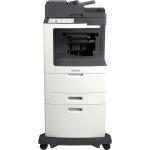 MX810DXPE Laser Multifunction Printer - Monochrome - Plain Paper Print - Desktop - Copier/Fax/Printer/Scanner - 55 ppm Mono Print - 1200 x 1200 dpi Print - 55 cpm Mono Copy - Touchscreen - 600 dpi Optical Scan - Automatic Duplex Print - 2750 sheet