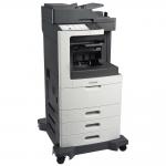 MX810DTFE Laser Multifunction Printer - Monochrome - Plain Paper Print - Desktop - Copier/Fax/Printer/Scanner - 55 ppm Mono Print - 1200 x 1200 dpi Print - 55 cpm Mono Copy - Touchscreen - 600 dpi Optical Scan - Automatic Duplex Print - 1750 sheet