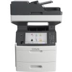 MX711DHE Laser Multifunction Printer - Monochrome - Plain Paper Print - Desktop - Copier/Fax/Printer/Scanner - 70 ppm Mono Print - 1200 x 1200 dpi Print - 70 cpm Mono Copy - Touchscreen - 600 dpi Optical Scan - Automatic Duplex Print - 650 sheets