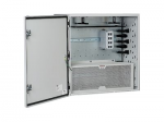 Pre-Configured Network Zone System - Network device security cabinet - gray