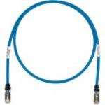TX6 10Gig - Patch cable - RJ-45 (M) to RJ-45 (M) - 5 ft - STP - CAT 6a - booted stranded - blue