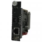 C-100-S1SC20U Media Converter - 1 x Network (RJ-45) - 1 x SC Ports - 10/100Base-TX 100Base-BX - Internal