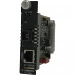 C-1000-S1SC80U Gigabit Ethernet Media Converter - 1 x Network (RJ-45) - 1 x SC Ports - 1000Base-T 1000Base-BX - Internal