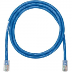 NetKey - Patch cable - RJ-45 (M) to RJ-45 (M) - 7 ft - UTP - CAT 5e - IEEE 802.3af/IEEE 802.3at/IEEE 802.3bt - snagless stranded - blue