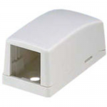 1PORT OFF WHT SURFACE MNT BOX DIRECT SHIP INCREMENTAL OF 1