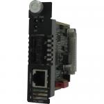 CM-1000-M2SC2 Media Converter - 1 x Network (RJ-45) - 1 x SC Ports - 10/100/1000Base-T 1000Base-LX - Internal