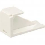 MINI-COM - Modular insert (blank) - white - 1 port