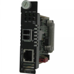 C-1110-S2LC160 Media Converter - 1 x Network (RJ-45) - 1 x LC Ports - DuplexLC Port - 10/100/1000Base-T 1000Base-ZX - Internal