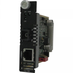 C-100-S1SC20D Media Converter - 1 x Network (RJ-45) - 1 x SC Ports - 100Base-BX 10/100Base-TX - Internal