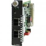 CM-100MM-S2LC40 Media Converter - 2 x LC Ports - DuplexLC Port - 100Base-FX 100Base-EX - Internal