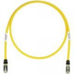 TX6 10Gig - Patch cable - RJ-45 (M) to RJ-45 (M) - 5 ft - STP - CAT 6a - booted stranded - yellow