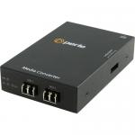 S-100MM-M2LC2 Transceiver - 2 x LC Ports - DuplexLC Port - 100Base-FX - Wall Mountable Rack-mountable Rail-mountable