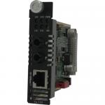 C-110-S2ST20 Fast Ethernet Media Converter - 1 x Network (RJ-45) - 1 x ST Ports - 10/100Base-TX 100Base-LX - External