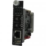 C-110-S2SC20 Media Converter - 1 x Network (RJ-45) - 1 x SC Ports - 100Base-LX 10/100Base-TX - Internal