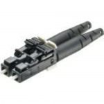 OptiCam Pre-Polished Cam Termination - Network connector - LC multi-mode (M) - fiber optic - 0.04 in / 125 micron - electric ivory