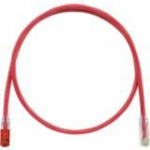 TX6 PLUS - Patch cable - RJ-45 (M) keyed B (red) to RJ-45 (M) - 10 ft - UTP - CAT 6 - IEEE 802.3af/IEEE 802.3at/IEEE 802.3bt - booted snagless stranded - red