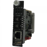 CM-110-S2SC80 Fast Ethernet Media Converter - 1 x Network (RJ-45) - 1 x SC Ports - 100Base-ZX 10/100Base-TX - Internal