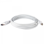 Mini DisplayPort Male to DisplayPort Male Cable - DisplayPort for Monitor Notebook Audio/Video Device - 14.76 ft - 1 x Mini DisplayPort Male Digital Audio/Video - 1 x DisplayPort Male Digital Audio/Video