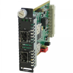 C-4GPT-DSFP Fiber Mode Converter Module - No - 1000Base-X - 2 x Expansion Slots - 2 x SFP Slots - Internal