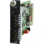 CM-1000MM-S2SC160 Media Converter - 2 x SC Ports - 1000Base-SX 1000Base-ZX - Internal