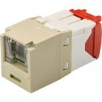 MINI-COM TX-5e UTP Jack Module - Modular insert - RJ-45 - electric ivory