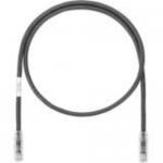 TX6A-SD 10Gig - Patch cable - RJ-45 (M) to RJ-45 (M) - 14 ft - UTP - CAT 6a - IEEE 802.3af/IEEE 802.3at/IEEE 802.3bt - booted snagless stranded - black