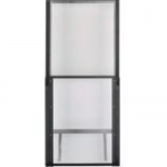 Net-Contain Hot Aisle Containment Adjustable Vertical Wall - Air containment wall - white