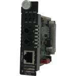 CM-110-S2ST80 Fast Ethernet Media and Rate Converter - 1 x Network (RJ-45) - 1 x ST Ports - 10/100Base-TX 100Base-ZX - Internal