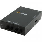 S-1000MM-S2ST120 Media Converter - 2 x ST Ports - 1000Base-SX 1000Base-ZX - Rail-mountable Rack-mountable Wall Mountable