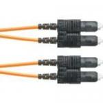 Opti-Core - Patch cable - SC multi-mode (M) to SC multi-mode (M) - 1 m - fiber optic - 62.5 / 125 micron - OM1 - riser - orange