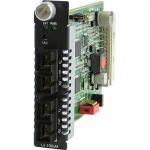C-1000MM-S2SC120 Media Converter - 2 x SC Ports - 1000Base-SX 1000Base-ZX - Internal