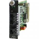 CM-100MM-S1SC20D Media Converter - 1 x SC Ports - 100Base-FX 100Base-BX - Internal