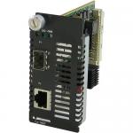 10 Gigabit Ethernet Managed Media Converter Module - 1 x Network (RJ-45) - 10GBase-T - 1 x Expansion Slots - 1 x SFP+ Slots - Internal