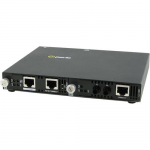 SMI-1000-S2ST40 Gigabit Ethernet Media Converter - 1 x Network (RJ-45) - 1 x ST Ports - Yes - 1000Base-EX 1000Base-T - External