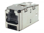 MINI-COM TX6 Plus Shielded Jack Module - Modular insert - RJ-45 - red