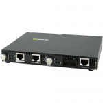 SMI-100-S2SC20 Fast Ethernet Media Converter - 1 x Network (RJ-45) - 1 x SC Ports - Yes - 10/100Base-TX 100Base-LX - External