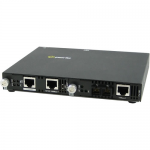 SMI-100-S2SC40 Media Converter - 1 x Network (RJ-45) - 1 x SC Ports - Yes - 100Base-TX 100Base-FX - Rail-mountable Rack-mountable Wall Mountable
