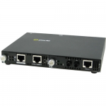 SMI-100-S2ST80 Media Converter - 2 x Network (RJ-45) - 1 x ST Ports - Yes - 100Base-TX 100Base-FX 10/100/1000Base-T - Rail-mountable Rack-mountable Wall Mountable