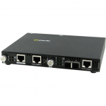SMI-1110-M2SC05 Gigabit Ethernet Media Converter - 2 x Network (RJ-45) - 1 x SC Ports - Yes - 1000Base-T 1000Base-SX - External Rail-mountable Rack-mountable Wall Mountable