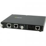 SMI-110-S2SC20 Media Converter - 2 x Network (RJ-45) - 1 x SC Ports - Yes - 100Base-FX 100Base-TX - External Rail-mountable Rack-mountable Wall Mountable