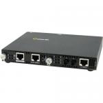SMI-110-S2ST120 Fast Ethernet Media Converter - 2 x Network (RJ-45) - 1 x ST Ports - Yes - 100Base-ZX 100Base-TX - Rack-mountable Wall Mountable Rail-mountable