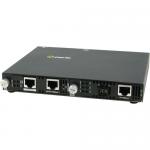 SMI-110-S1SC40D Fast Ethernet Media Converter - 2 x Network (RJ-45) - 1 x SC Ports - Yes - 100Base-TX 100Base-BX - Rack-mountable Wall Mountable Rail-mountable